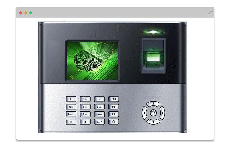 Biometric for attendance