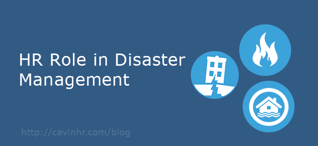 HR Manager Role in Disaster Management